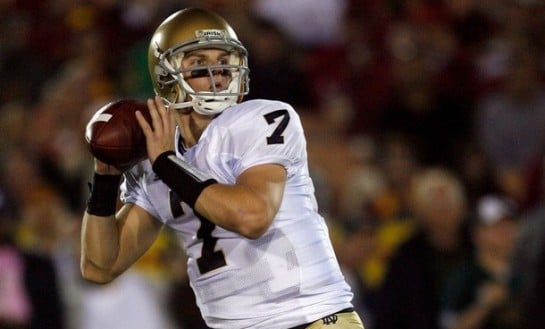Does the Brady Quinn Trade Hurt Jimmy Clausen’s Draft Stock?