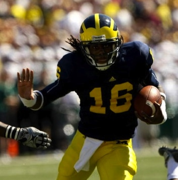 Michigan Quarterback Denard Robinson: Overhyped and Untied