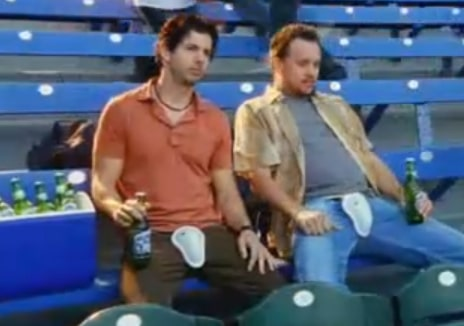 Baseball Fans Unintentionally Mimic Classic Remember Your Cup Rolling Rock Commercial of the Past (Videos)