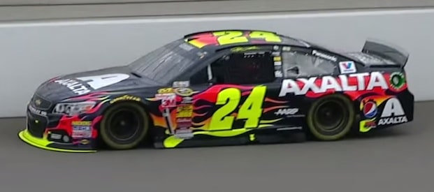 Jeff Gordon races to victory at the Pure Michigan 400