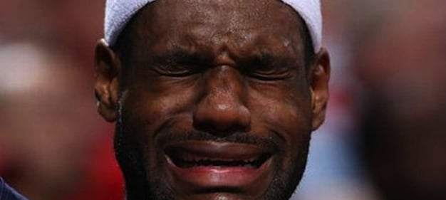 lebron james crying Who had the worst loss of the week?