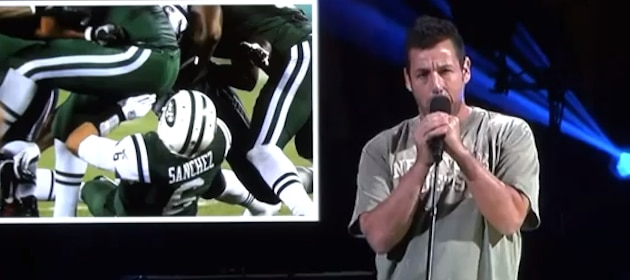 adam-sandler-pokes-fun-at-mark-sanchez-during-sandy-screw-ya-parody