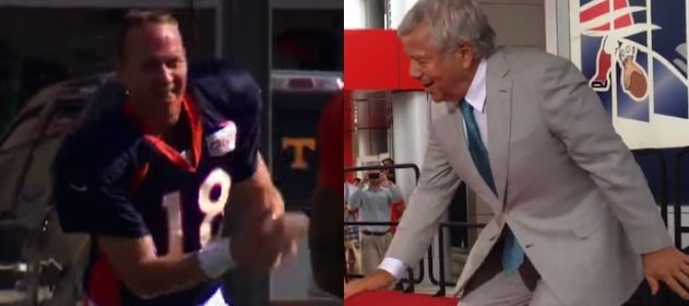 Forget Peyton Manning, Have You Seen Patriots Owner Robert Kraft Dance Lately?