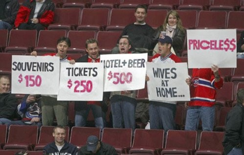 Funny Pictures Sports. funny sports sign wives Tom