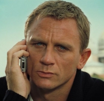 Need THE WIFE to be distracted? Call Craig, Daniel Craig.