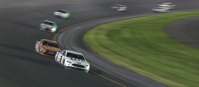 keselowski leads the pack