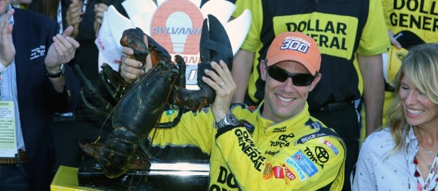 Matt Kenseth Victory Lane Lobster