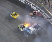 nascar late race wreck at richmond