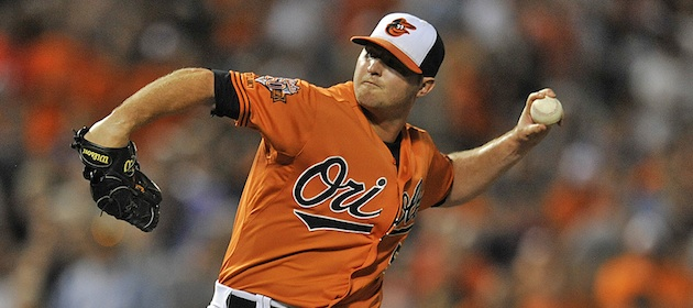 Zach Britton Baltimore Orioles closer