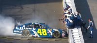 jimmie-johnson-celebrates-advancing-to-nascar-championship