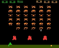 Space Invaders...oh, how I remember these amazing graphics!