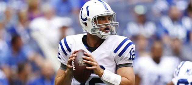 Indianapolis Colts QB Andrew Luck is an NFL MVP candidate