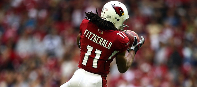 Larry Fitzgerald and the Cardinals have been flying high this season