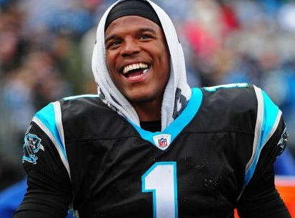 cam newton all smiles
