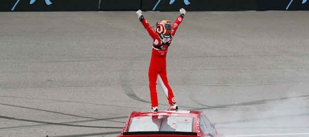 Kyle Larson First Sprint Cup Victory