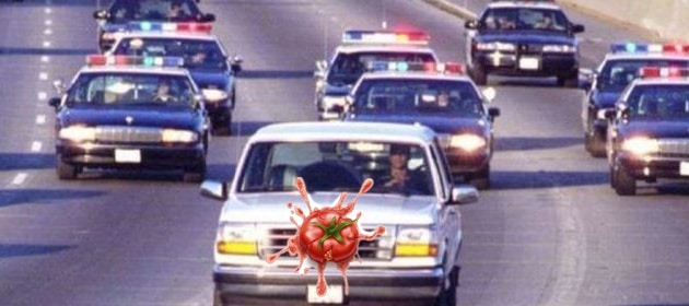 Throwing-Tomatoes-OJ-Simpson-Bronco-Chase